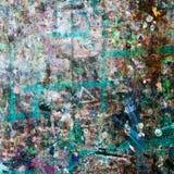 Abstrakt bakgrund av gammal färgrik yttersida Royaltyfria Bilder