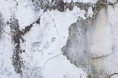 Abstrakt bakgrund av gammal fläck på sprickabetongväggbakgrund Arkivfoton