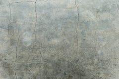 Abstrakt bakgrund av gammal textur för sprickacementgolv Fotografering för Bildbyråer