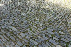 Abstrakt bakgrund av gammal trottoar Royaltyfri Bild