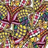 Abstrakt bakgrund av geometriskt dra för modeller Royaltyfri Bild