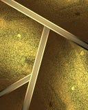 Abstrakt bakgrund av guld- plattor Beståndsdel för design Mall för design kopiera utrymme för annonsbroschyr eller meddelandeinvi Royaltyfria Foton