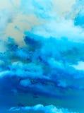 Abstrakt bakgrund av himmel med molnet Royaltyfri Foto