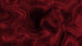 Abstrakt bakgrund av kalejdoskopet i röd rund rörelse stock video