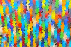 Abstrakt bakgrund av kristalliserat Arkivbild