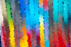 Abstrakt bakgrund av kristalliserat Royaltyfri Foto