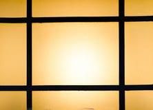 Abstrakt bakgrund av kulöra exponeringsglas av lampan Arkivbilder