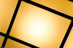 Abstrakt bakgrund av kulöra exponeringsglas av lampan Fotografering för Bildbyråer