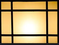 Abstrakt bakgrund av kulöra exponeringsglas av lampan Arkivfoton