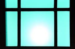 Abstrakt bakgrund av kulöra exponeringsglas av lampan Arkivbild