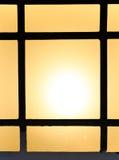 Abstrakt bakgrund av kulöra exponeringsglas av lampan Royaltyfria Foton