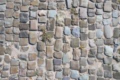 Abstrakt bakgrund av kullerstentrottoar Royaltyfria Bilder