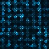 Abstrakt bakgrund av mångfärgade pentagons Arkivfoto