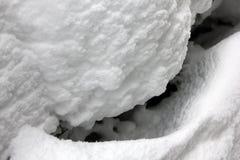 Abstrakt bakgrund av ny snö 30114 Royaltyfri Foto