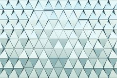 Abstrakt bakgrund av polygonal form Fotografering för Bildbyråer