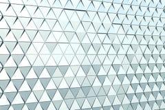 Abstrakt bakgrund av polygonal form Royaltyfri Foto