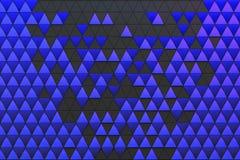 Abstrakt bakgrund av polygonal form Arkivbild