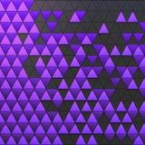 Abstrakt bakgrund av polygonal form Royaltyfri Fotografi