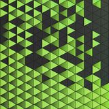 Abstrakt bakgrund av polygonal form Royaltyfria Bilder