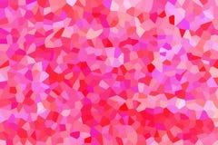 Abstrakt bakgrund av röda och rosa färgfärger Royaltyfri Bild