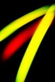 Abstrakt bakgrund av rött, gör grön, gulnar Royaltyfri Fotografi