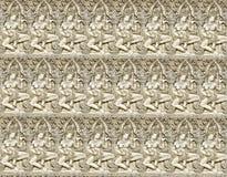 Abstrakt bakgrund av sandstencarvings som är sömlösa av ängelwer Royaltyfri Foto