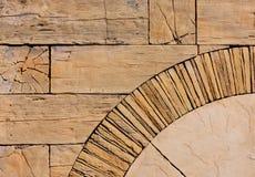 Abstrakt bakgrund av trästrålar, stenen och marmor Arkivbilder