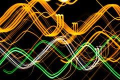 Abstrakt bakgrund av trafikljus Royaltyfri Foto