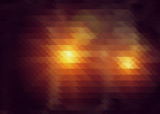 Abstrakt bakgrund av trianglar Fotografering för Bildbyråer
