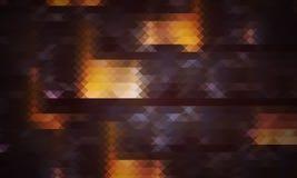 Abstrakt bakgrund av trianglar Royaltyfri Fotografi