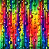 abstrakt bakgrund bubbles färgrikt Royaltyfri Foto