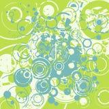 abstrakt bakgrund cirklar retro royaltyfri illustrationer