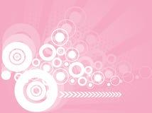 abstrakt bakgrund cirklar stilfullt Royaltyfri Fotografi