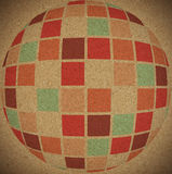 abstrakt bakgrund colors gammalt Royaltyfria Bilder