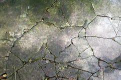 abstrakt bakgrund Cracked hårdnar texturerar Arkivbild