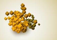 Abstrakt bakgrund 3D royaltyfri illustrationer
