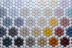 Abstrakt bakgrund 3D från mång--färgade kuber Fotografering för Bildbyråer