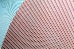 Abstrakt bakgrund 3D i form av korrugerade tyger Arkivbilder