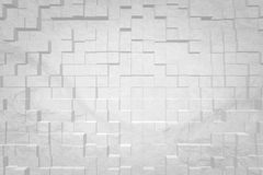 Abstrakt bakgrund 3D pressar ut stil Arkivfoton