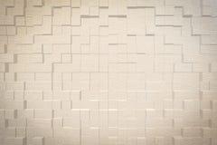 Abstrakt bakgrund 3D pressar ut stil Royaltyfri Foto
