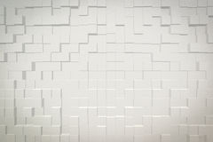 Abstrakt bakgrund 3D pressar ut stil Arkivfoto