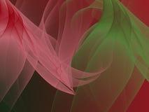 abstrakt bakgrund Digital collage med fractals Arkivbilder