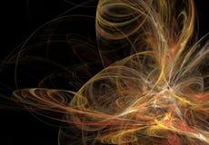 abstrakt bakgrund Digital collage med fractals Fotografering för Bildbyråer