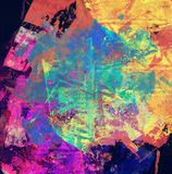 Abstrakt blandad massmediabakgrund eller texturerar Arkivbild