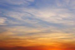 Abstrakt bakgrund - färgrik sky Arkivfoton