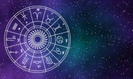 Abstrakt bakgrund för astrochartgalaxdesign Royaltyfria Bilder