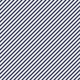 Abstrakt bakgrund för blåa diagonala band Tunn lutande linje tapet Sömlös modell med enkelt klassiskt motiv stock illustrationer