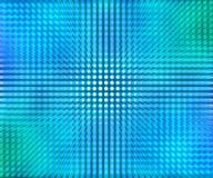 Abstrakt bakgrund för blåa ljusdiod-prickar Royaltyfri Fotografi