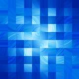 Abstrakt bakgrund för blått Royaltyfri Foto