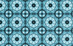 Abstrakt bakgrund för blåttcirkelmodell stock illustrationer